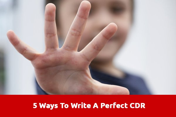 Ways To Write A Perfect CDR